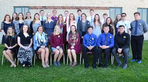 ​National Honor Society Inducts New Members