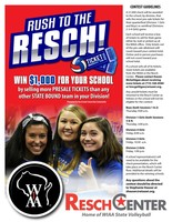 Win $1000 for HG with the Rush to the Resch Program