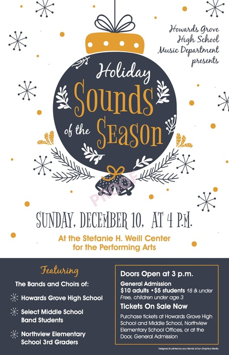 Holiday Sounds of the Season Concert